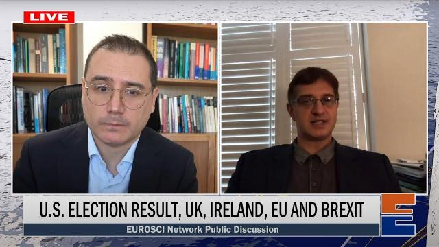 Embedded thumbnail for  LIVE Discussion: U.S. election results, the UK, the EU and Brexit